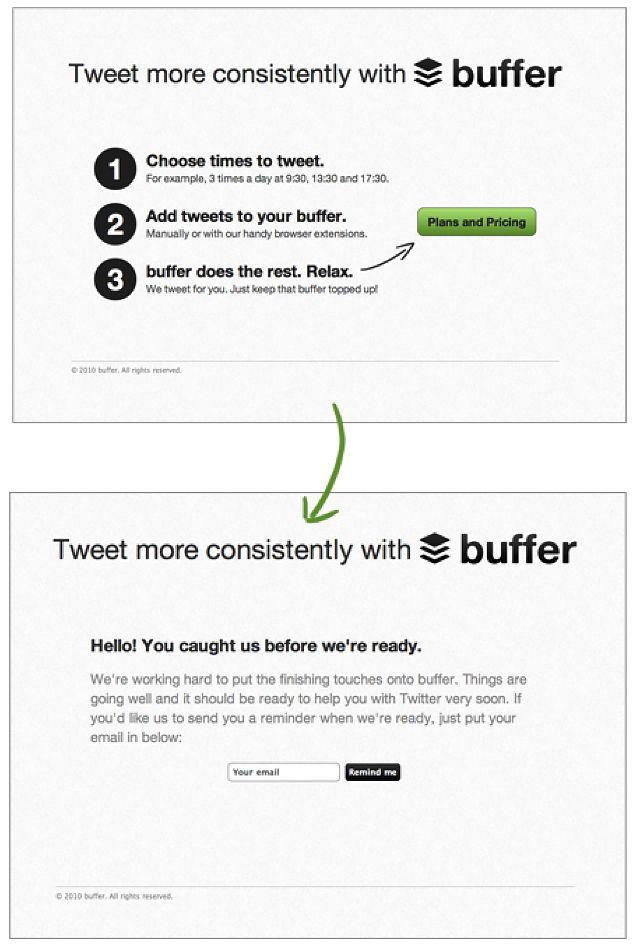 Buffer-Landing-Page-MVP-type