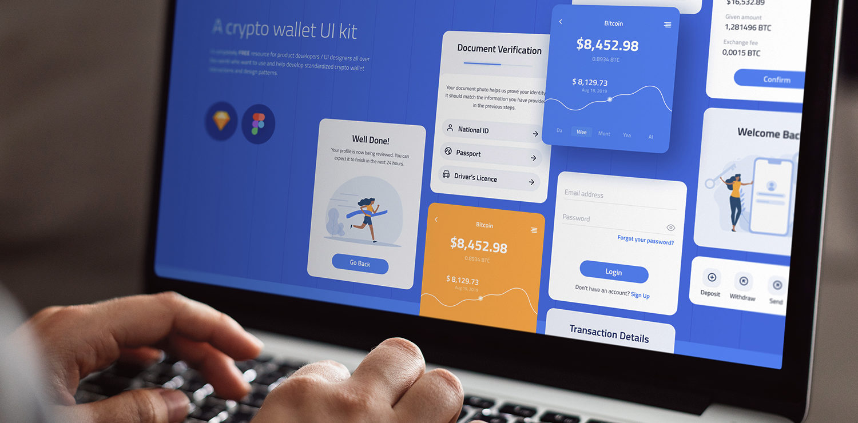 Whollet - Crypto Wallet UI kit