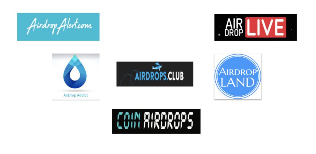 airdrop logos