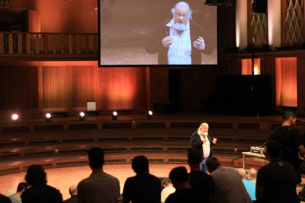 richard stallman speaking