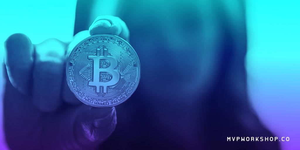 bitcoin coin blue mvpworkshop