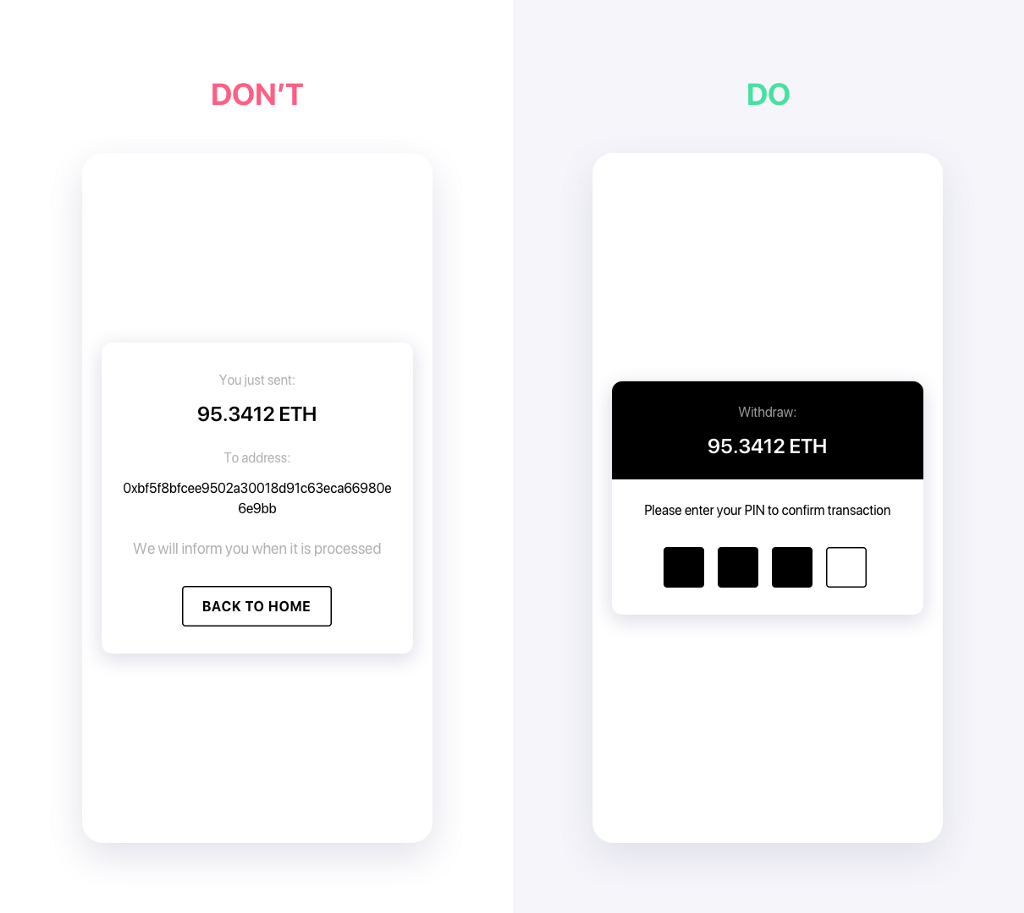 design in crypto and blockchain
