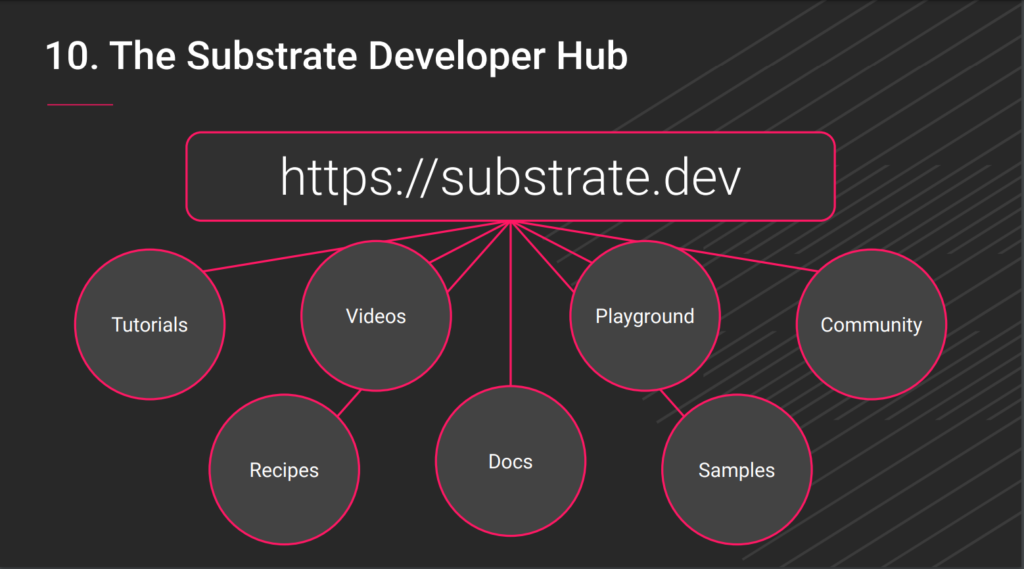 Polkadot Meetup - Substrate Developer Hub